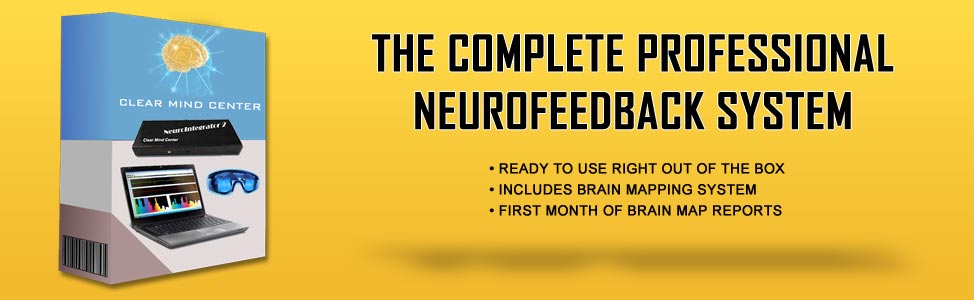 THE COMPLETE NEUROFEEDBACK SYSTEM for $14,995 - Everything you need to start offering neurofeedback to patients